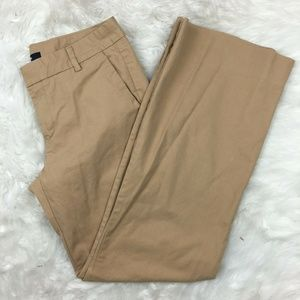 Gap Women's Career Brown Beige Khaki Chino Pants